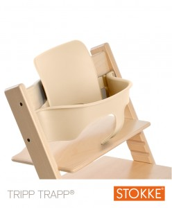 Nakładka STOKKE TRIPP TRAPP BABY SET - natural