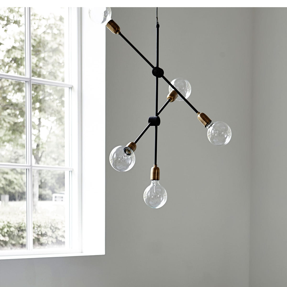 pendant lamp molecular ii house doctor nordic decoration