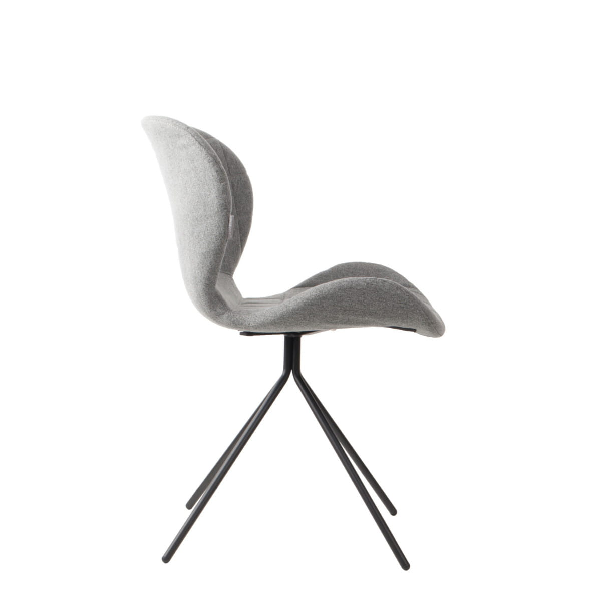Chair omg light grey zuiver nordic decoration home for Chaise zuiver omg