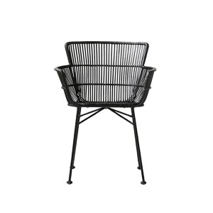 Dinning chair CUUN BLACK - House Doctor