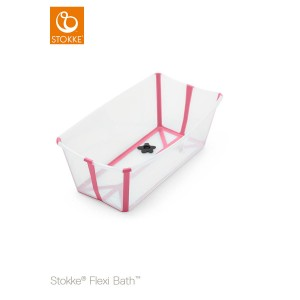 Wanienka STOKKE FLEXI BATH transparent pink