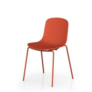 Chair HOLI CLOSED SHELL red - TOOU