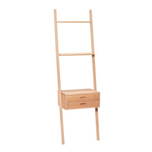 Ladder LOODUS wich drawers, OAK/FSC  - Hübsch