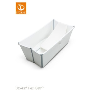 Wanienka STOKKE FLEXI BATH white + wkładka