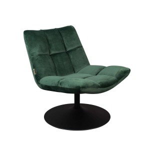Fotel BAR zielony - Dutchbone
