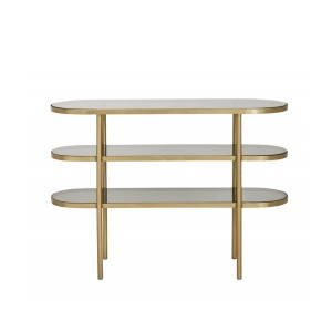 Oval console table LUNA S - Nordal