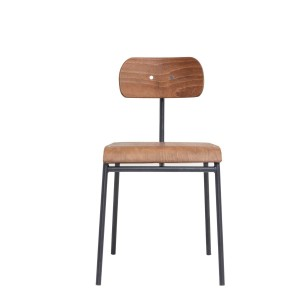 Dining chair SCHOOL brown - House Doctor