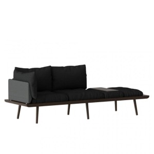 Sofa 3-osobowa Lounge Around, dark oak - UMAGE