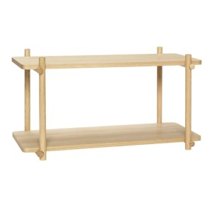 Wall Shelf OAK NATURE  - HUBSCH