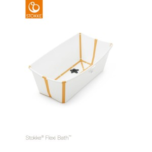 Wanienka STOKKE FLEXI BATH white yellow
