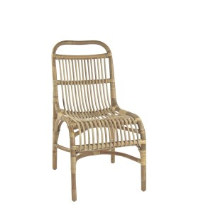 Rattan chair KIM - Pomax