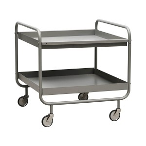 Trolley ROLL short, grey - House Doctor