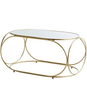 Coffee table OVAL MARBLE - Madam Stoltz