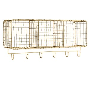 Hooks with shelf NETTING - Madam Stoltz