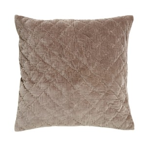 Pillowcase beige velvet  - Nordal