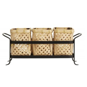 Set of baskets BAMBOO SPICES - Nordal