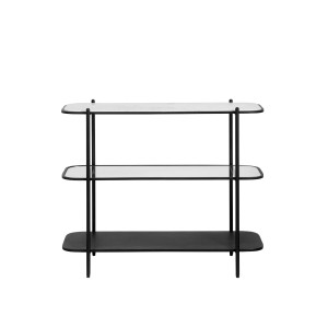 Console table TRIO black - Nordal