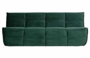 Sofa CLUSTER 3-seater green - WOOOD