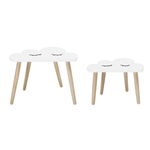 Set of two table CLOUDS - Bloomingville