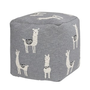 Pouf LAMA grey - Bloomingville