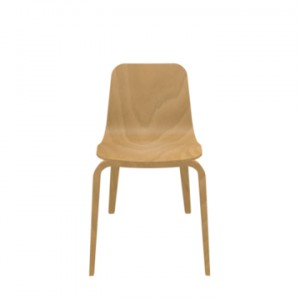 Chair HIPS A-1802, honey 02 - FAMEG