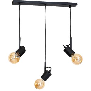 Hanging lamp ALUNA M black- Aldex