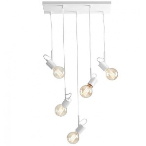 hanging lamp ALUNA L white- Aldex