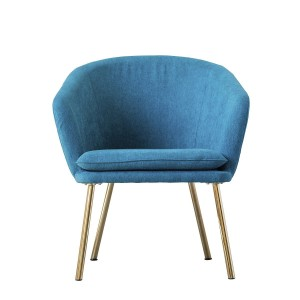 Lounge chair BLUE  - Bloomingville