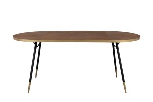 Oval table DENISE - White Label Living