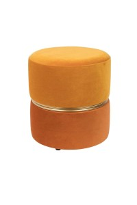 Stool BUBBLY orange - White Label Living