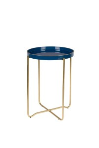 Coffee table CELINA  dark blue- White Label Living