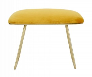 Stool WARM yellow - Nordal