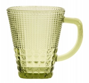 Mug with handle AMBER light green - Nordal