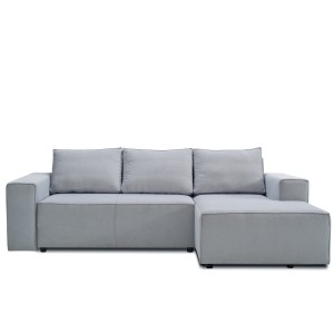 Corner sofa KARL with sleeping function - RIGHT , SOFIA 15