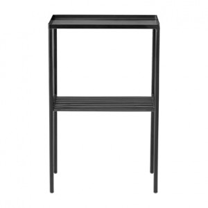 Black Grid side table  - Bloomingville
