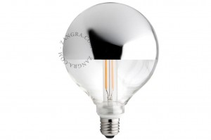 Bulb LED CROWN silver- Zangra