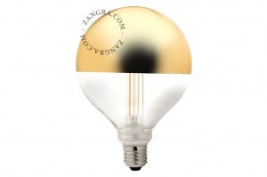 Bulb LED CROWN gold- Zangra