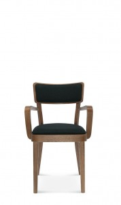 Armchair SOLID B-9449 oak, color to choose