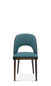 Chair AMADA A-1413 oak, colors to choose  - Fameg