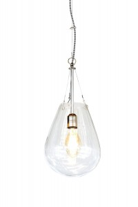 Hanging lamp BULLIA transparent - Pomax