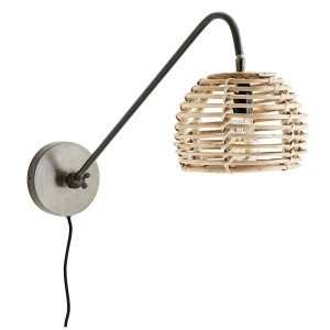 Wall lamp TAKE bamboo - Madam Stoltz