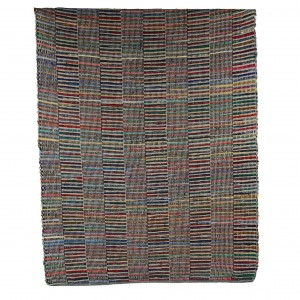 JAIPUR multi-colored jute rug  - Pomax