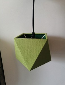 Hanging lamp TRIA green