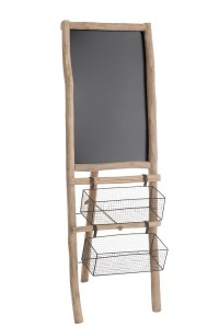 KABA chalkboard with 2 baskets - Jolipa