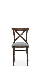 Chair A-8810/1, upholstered, beech - color to choose  - Fameg