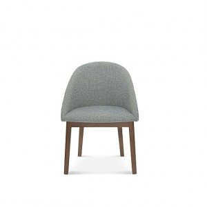 POP chair A-1901, beech, upholstered- Fameg- Color to choose