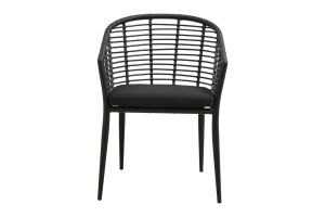 Chair SALIX black steel - Nordal
