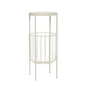 Console table metal white - Hubsch