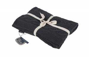 SOPHIE dark gray blanket  - Be Pure