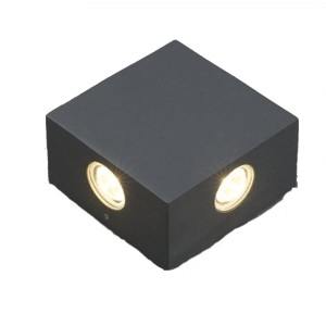 Outdoor wall lamp ZEM graphite